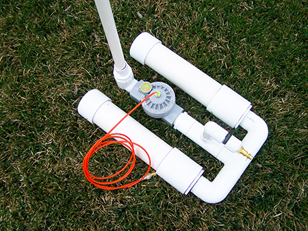 Air Actuated Launcher